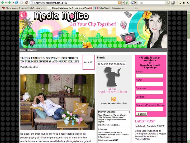 Media Mojito Interview - Screenshot