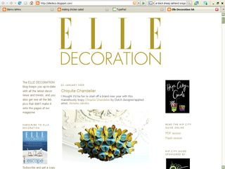 Elle Decoration SA - Screenshot