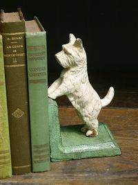 Westie bookends posh