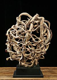 Root sculpture alhambra