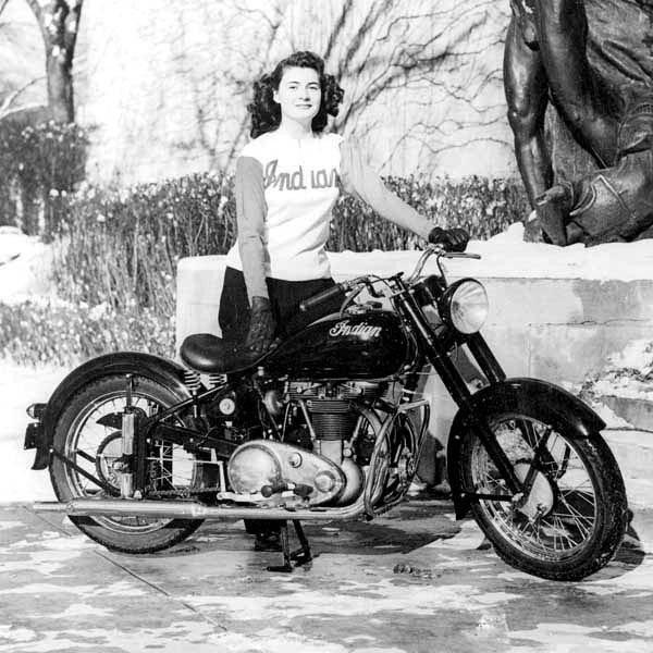 Retro Motorcycle Wallpaper
