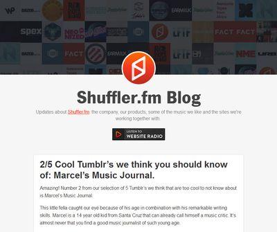 Marcel-shuffler post