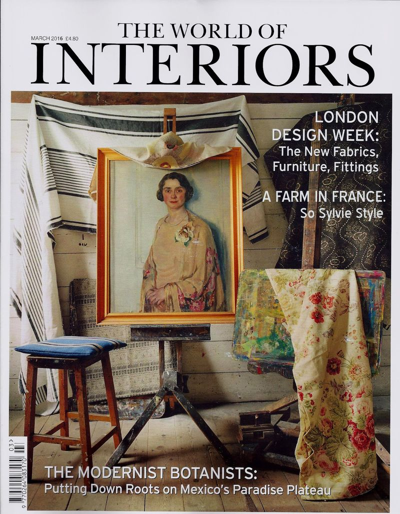 1 The World Of Interiors March 2016 Cover copy